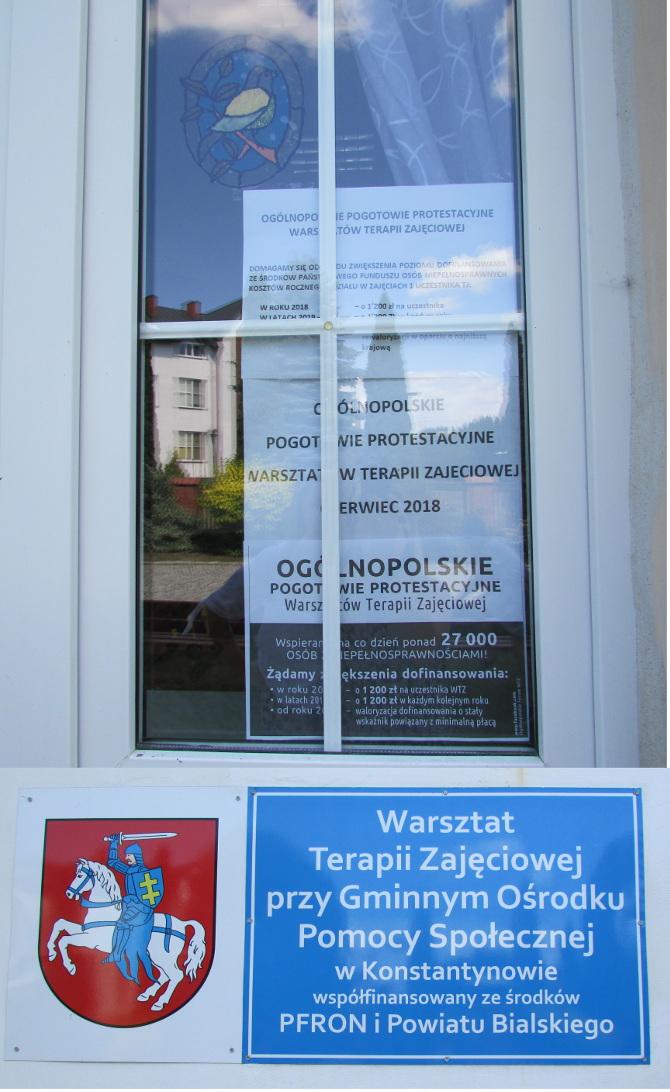 Więcej o: Ogólnopolskie Pogotowie Protestacyjne Warsztatów Terapii Zajęciowej